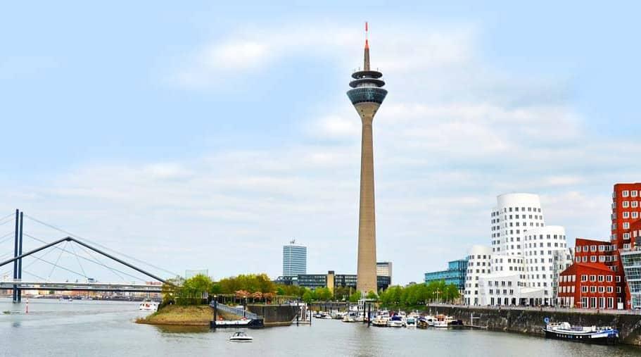 Düsseldorf Gehry Bauten im Hafen